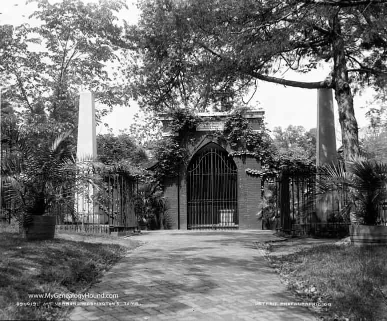 1799; Washington Tomb