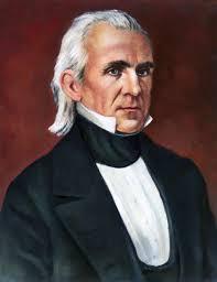 1845; #11. James K Polk