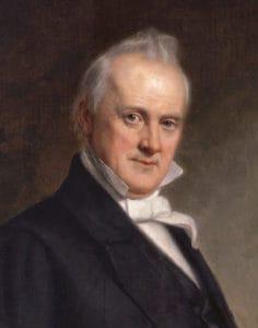 1857; #15 JAMES BUCHANON