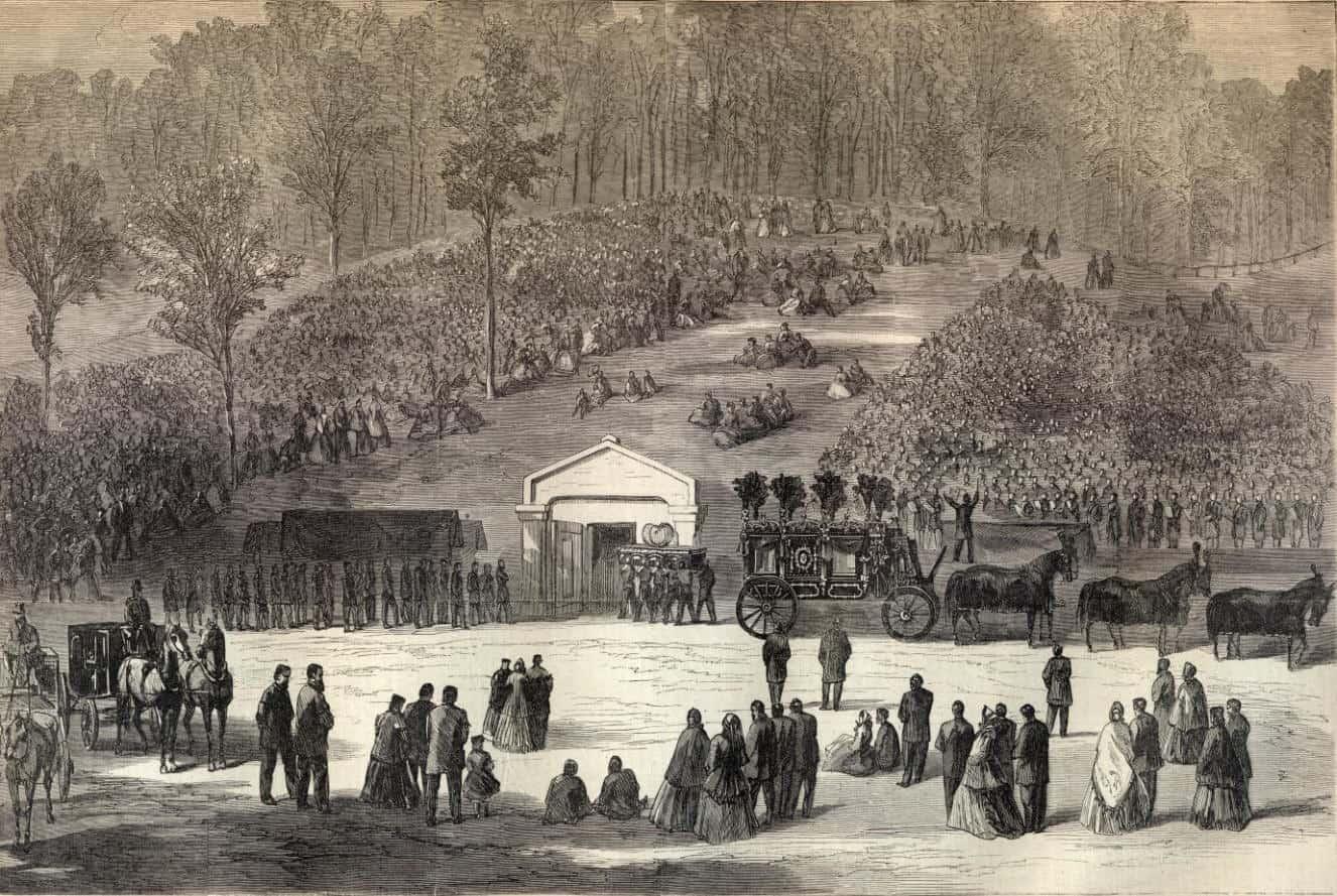 1865; abraham-lincolns-tomb