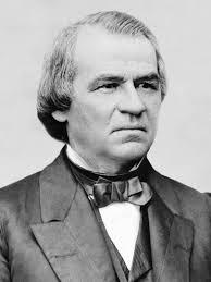 1865; #17. andrew johnson
