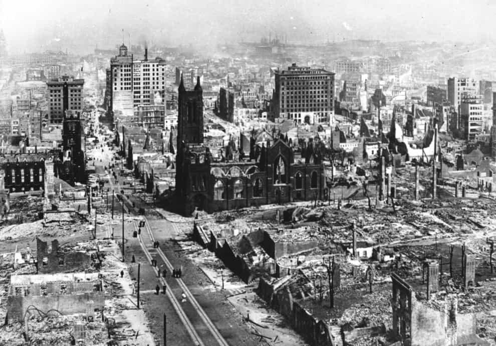 1906; san fran quake