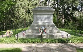 1893; haye's tomb