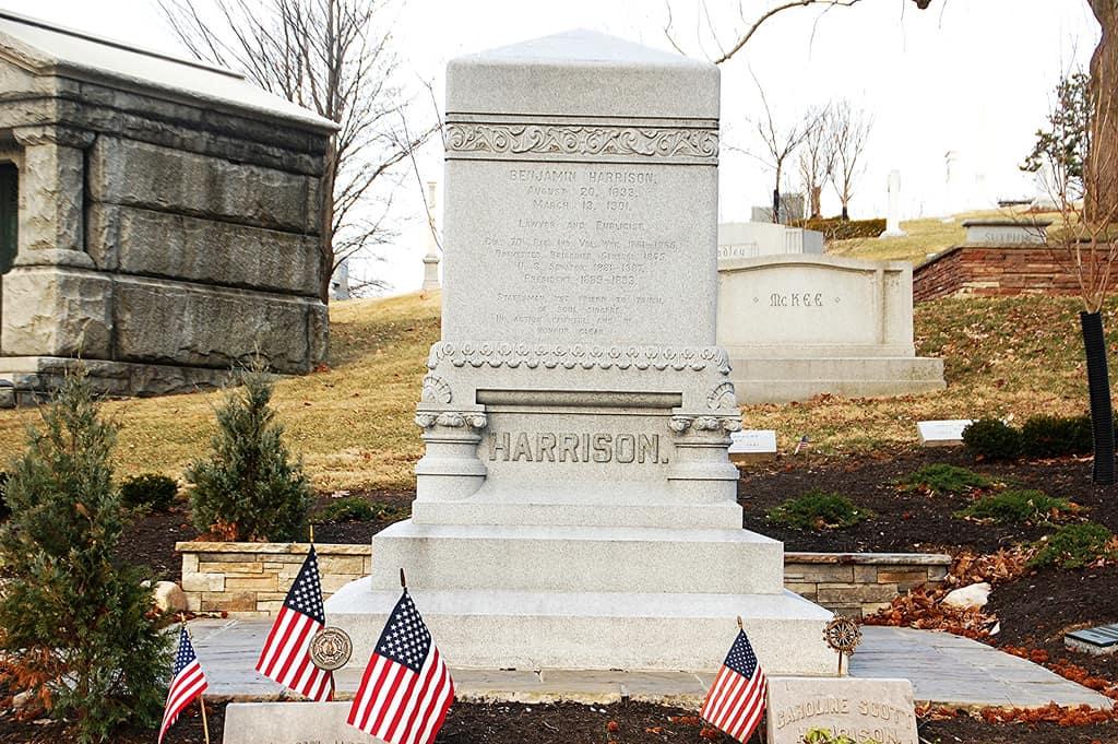 1901; harrison tomb