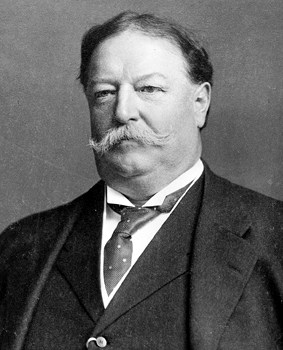 1909; #27 william h taft