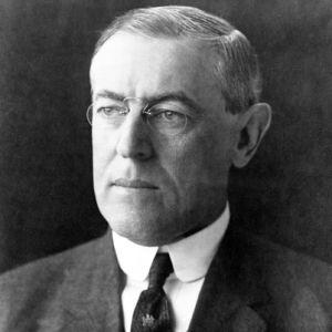 1913; #28. woodrow wilson