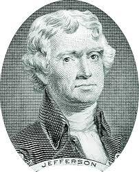 1801; #3 Thomas Jefferson