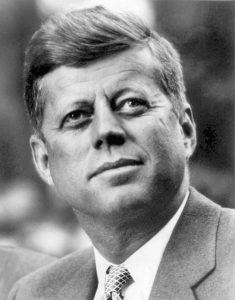 1961; #35. john f kennedy