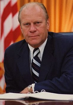 1974; #38. gerald ford