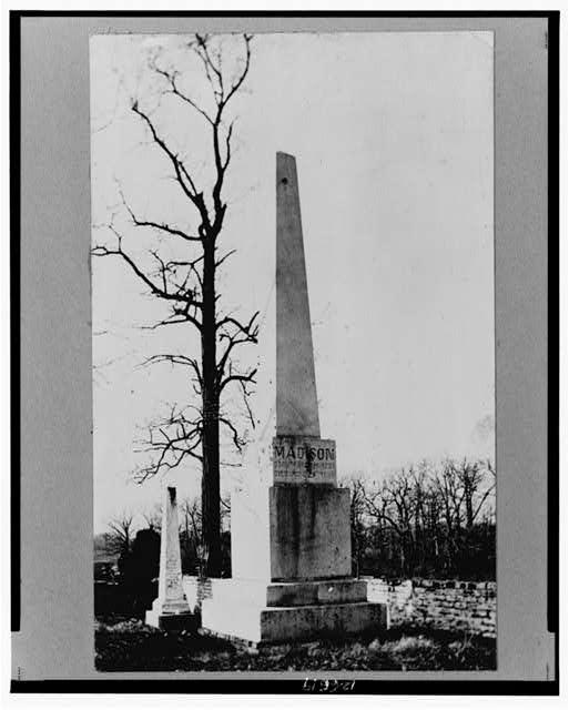 1836; Madison Tomb