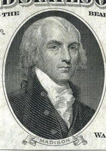 1809; #4 James Madison