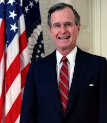1989; #41. George H w bush