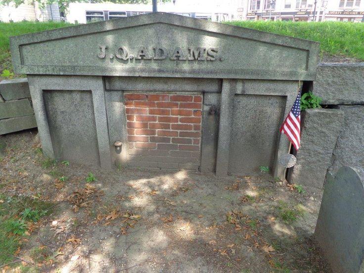 1848; John Q. Adams tomb