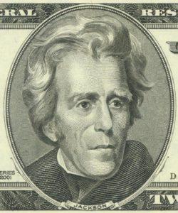 1829; #7. Andrew Jackson