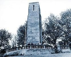 1841; Harrisons tomb