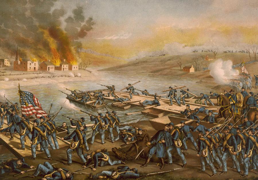 1862; BATTLE OF FREDERICKSBURG