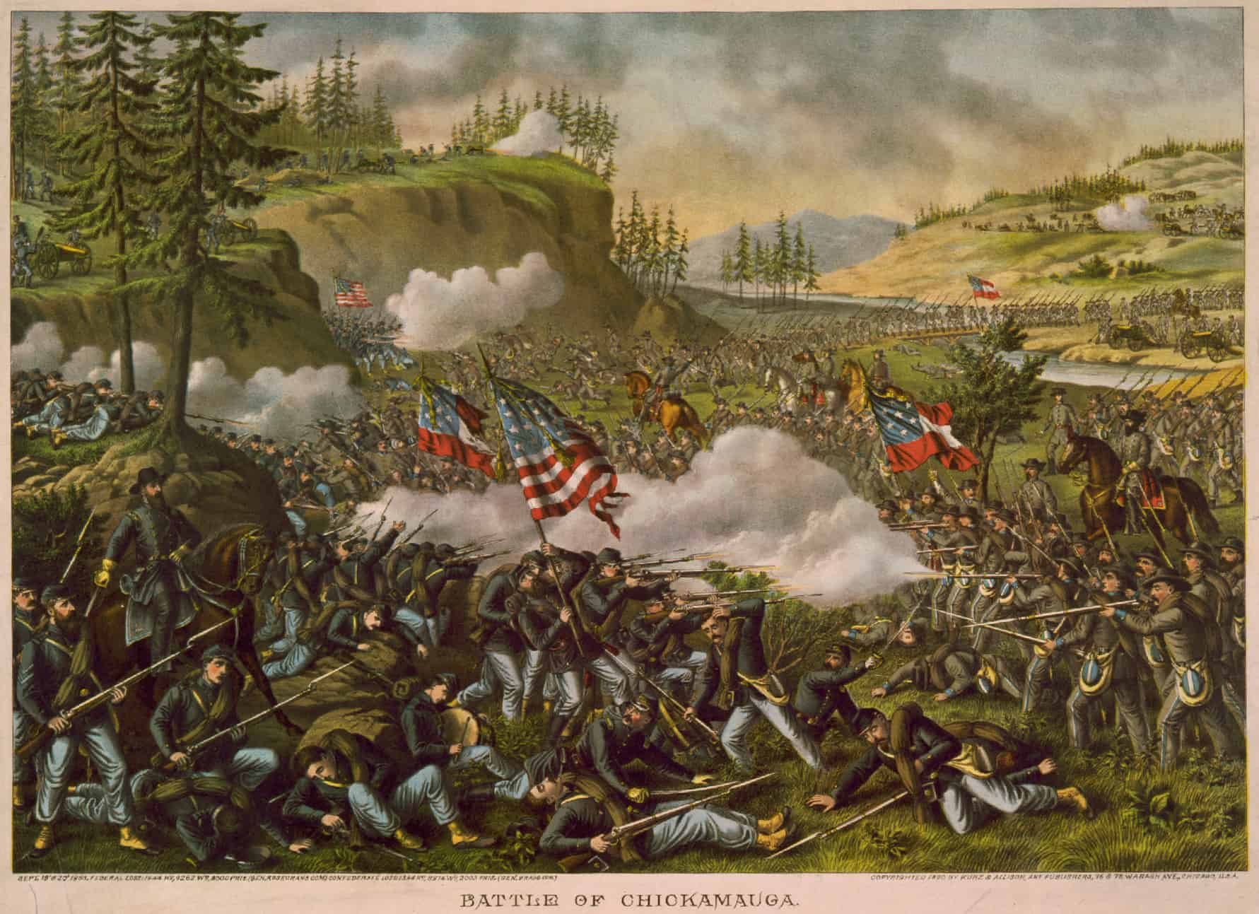 1881; Chickamauga