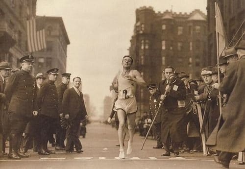 1897; FIRST BOSTON MARATHON
