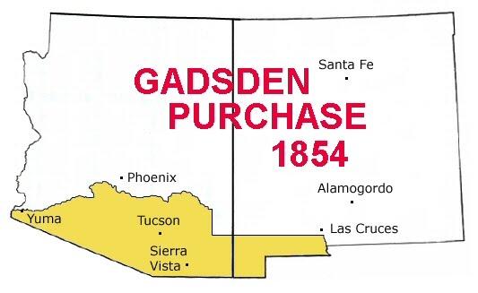 1854; GADSDEN purchase