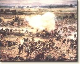 1863; LEES RETREAT FROM GETTYSBURG
