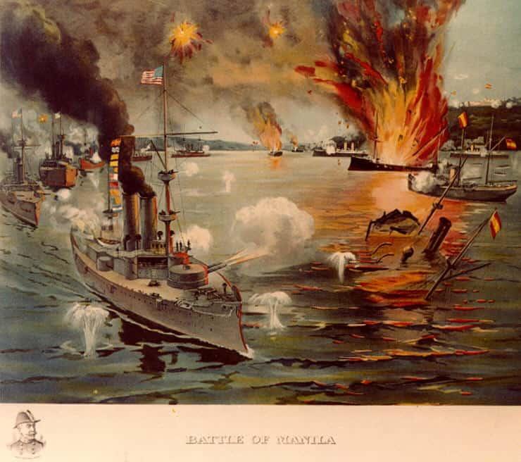 1898; MANILA BAY