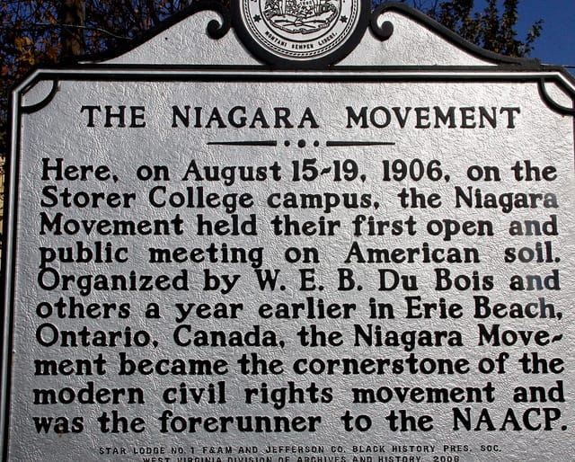 1905; NiaGARA MOVEMENT