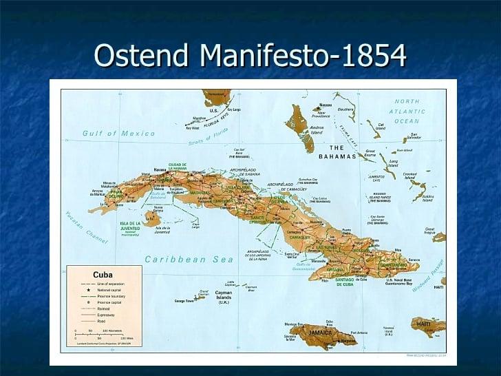 1854; OSTEND MANIFESTO