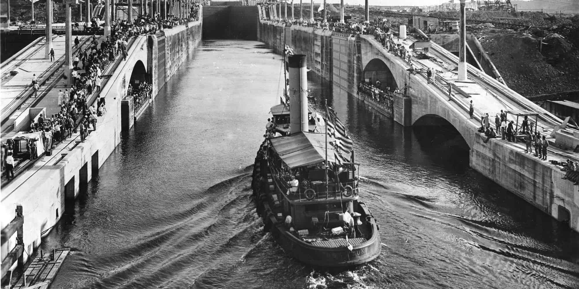 1914; panama canal