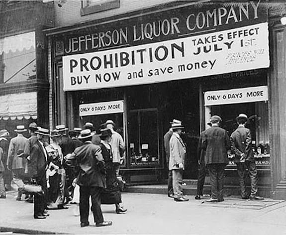 1919; Prohibition-Era-Cocktail-Recipes