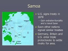 1878; SAMOA TREATY
