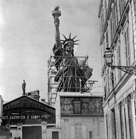 1884; Statue-de-la-Liberte-a-Paris