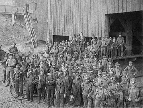 1902; anthracite coal strike