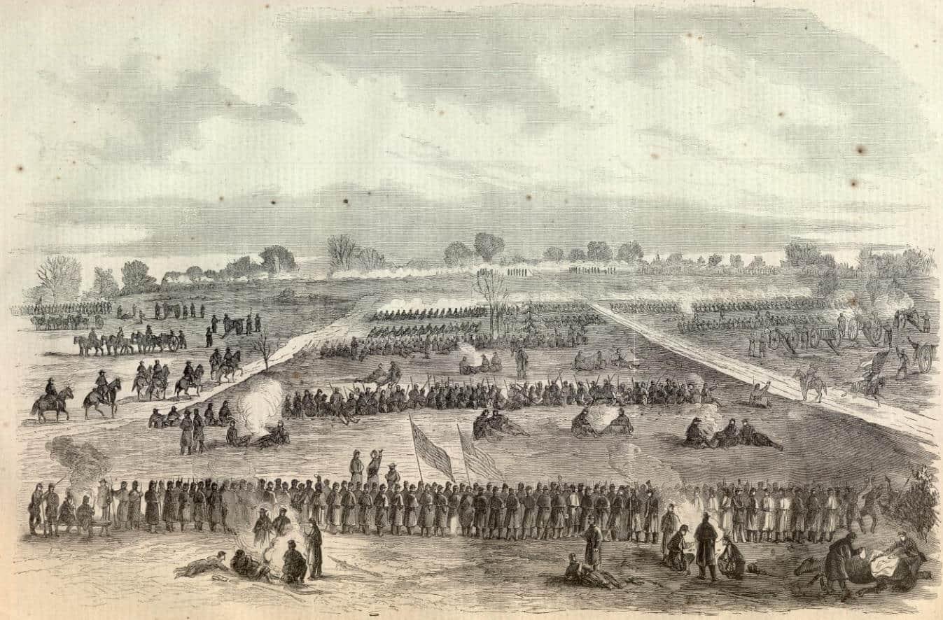 1863; battle-murfreesboro