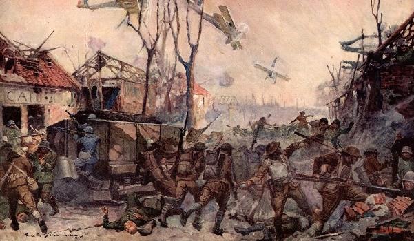 1918; battle-of-cantigny