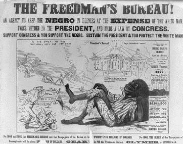 1866; freedmans bureau