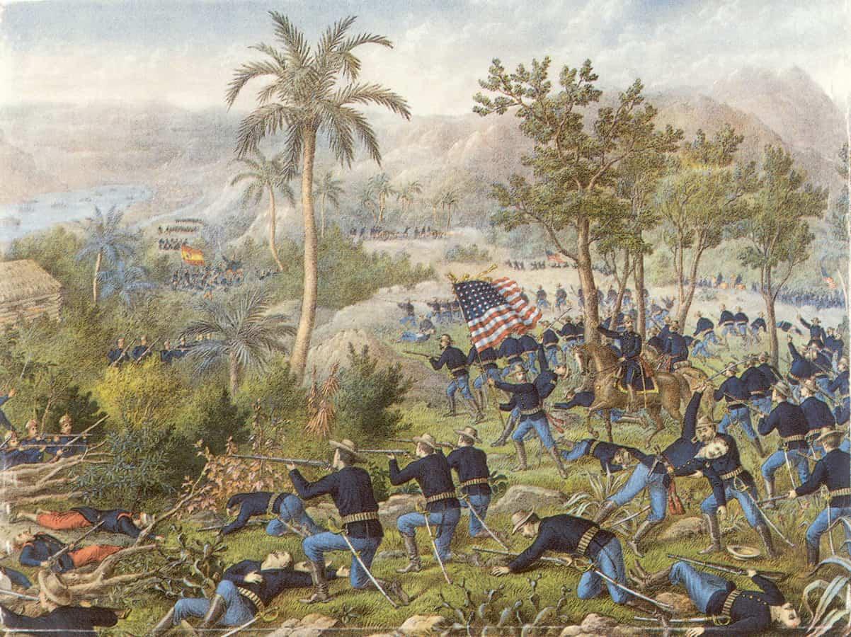 1898; guasimas-battle