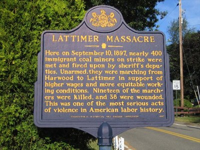 1897; lattimer massacre