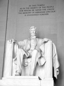 1865; lincoln memorial