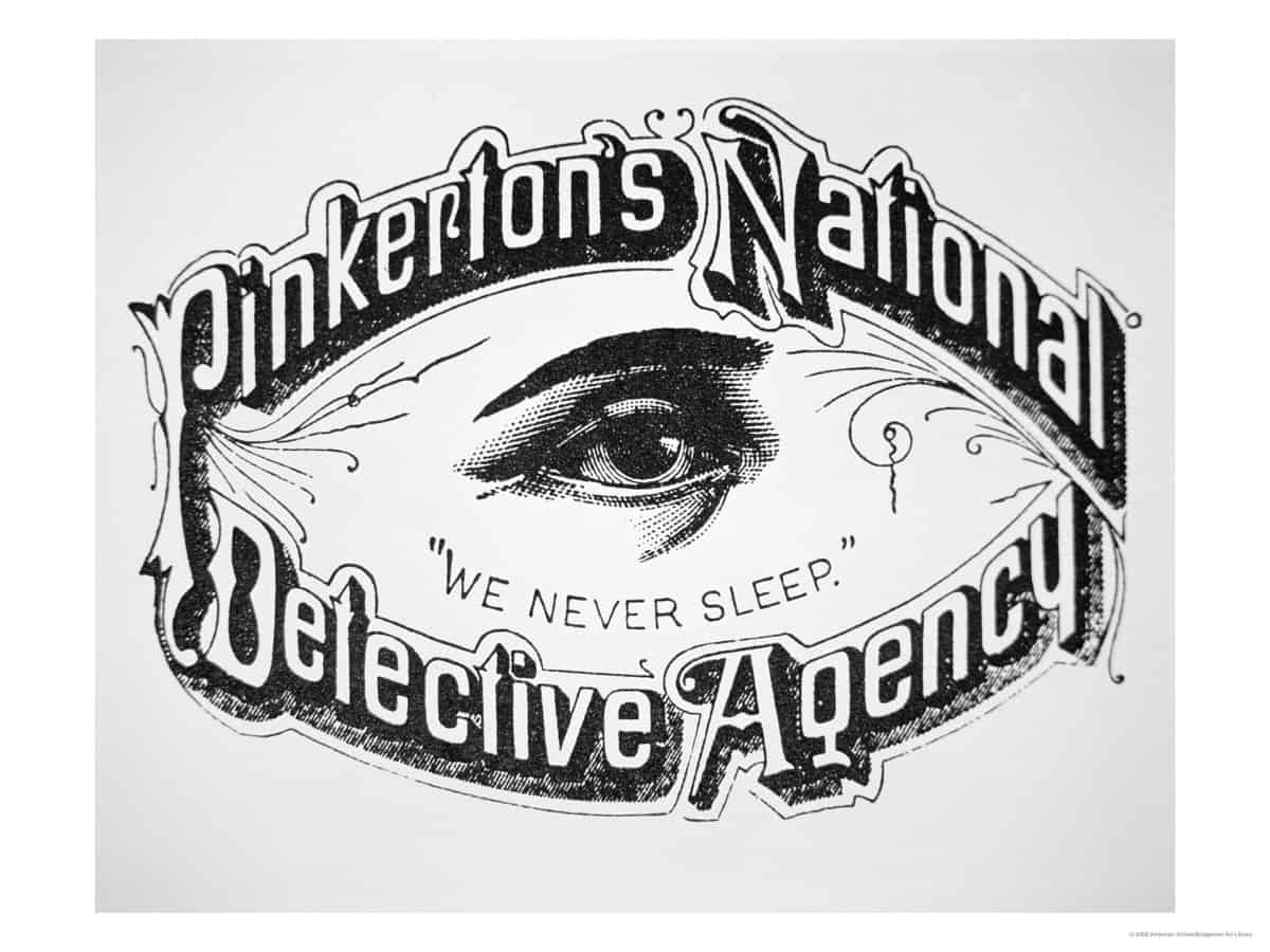 1892; pinkerton-private-eye