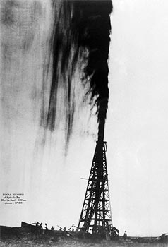 1901; oil strike