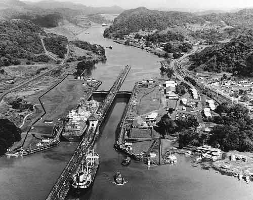 1903; panama canal