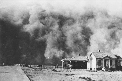 1934; dust bowl