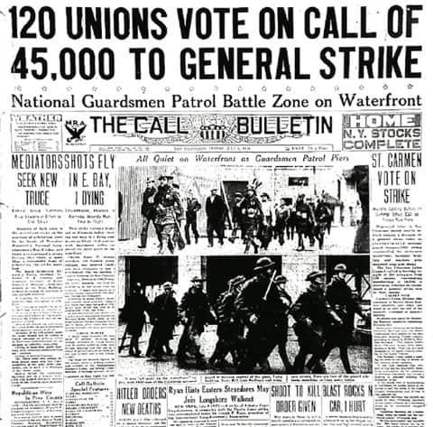 1934; general strike