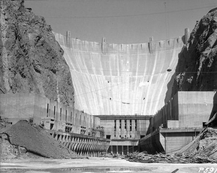 1933; hoover dam