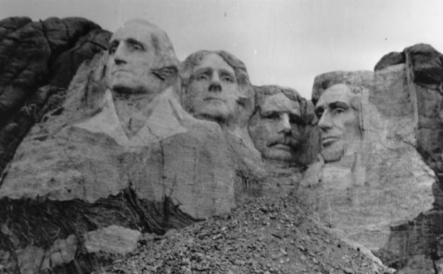 1941; MT RUSHMORE completion