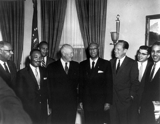 1958; eisenhower AND MLK