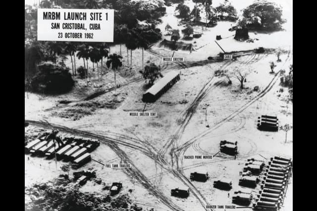 1962; CUBA LAUNCH SITES