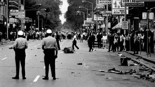 1967; DETROIT RACE RIOT