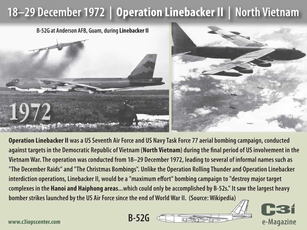 1972; operation lineback II