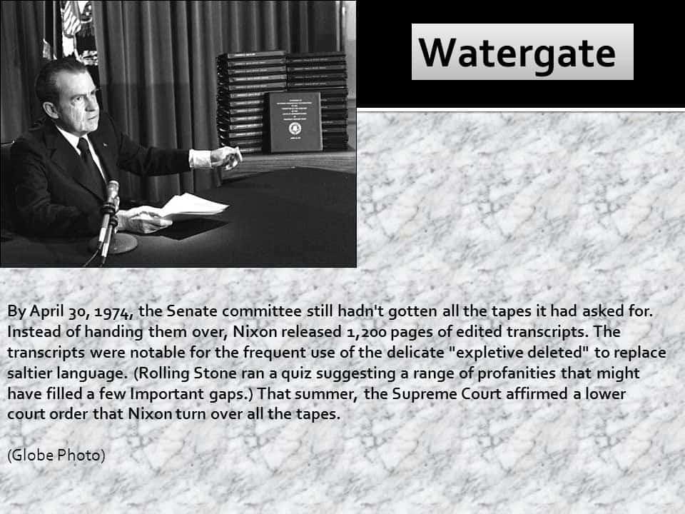 1974 watergate
